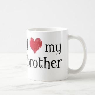 J'aime mon frère mug