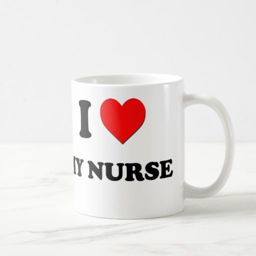 J'aime mon infirmière tasse