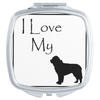 J'aime mon miroir de contrat de chien