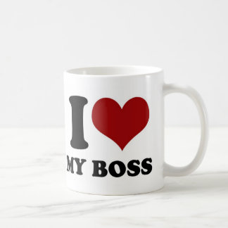 J'aime mon patron - tasse