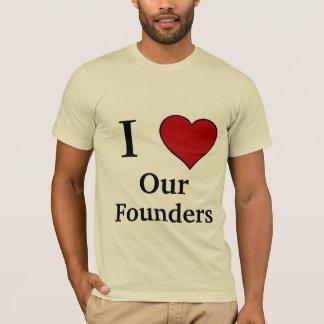 J'aime - nos fondateurs t-shirt