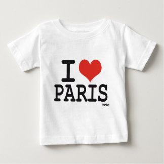 J'aime Paris T-shirt Pour Bébé