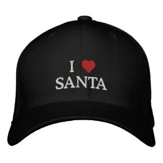 J'aime Père Noël Casquette Brodée