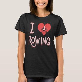 J'aime ramer - T-shirt d'aviron