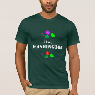 J'aime WASHINGTON D C Amérique Etats-Unis T-shirt