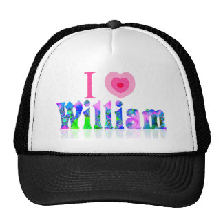 J'aime William Casquettes