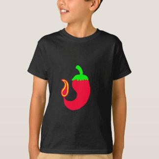 Jalapeno vertical du T-shirt B d'enfants