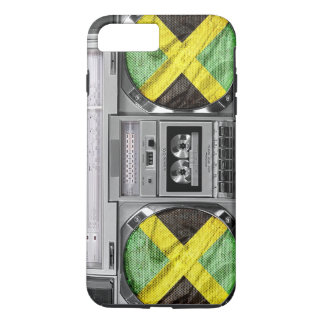 Jamaïca boombox iPhone 8 plus / 7 plus hoesje
