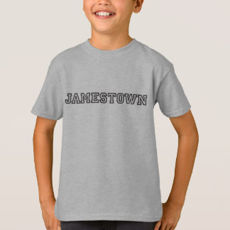 Jamestown badine le T-shirt