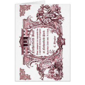 Jane Austen : Cartes d'invitation de boule de