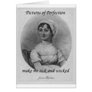 Jane Austen est malade et mauvais Carte