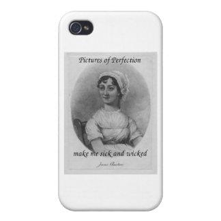 Jane Austen est malade et mauvais Coque iPhone 4/4S