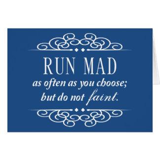 Jane Austen : Ne s'évanouissent pas les cartes de