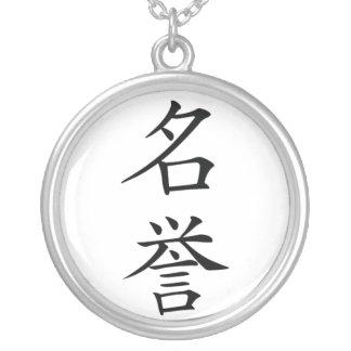 Japans Kanji van de Eer Bushido Ketting