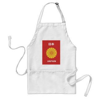 Japanse - 日本 - 日本人 paspoorthouder Japans Japan, Standaard Schort