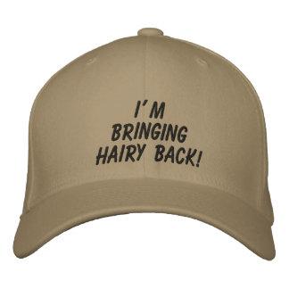 J'apporte le dos velu ! : Le casquette