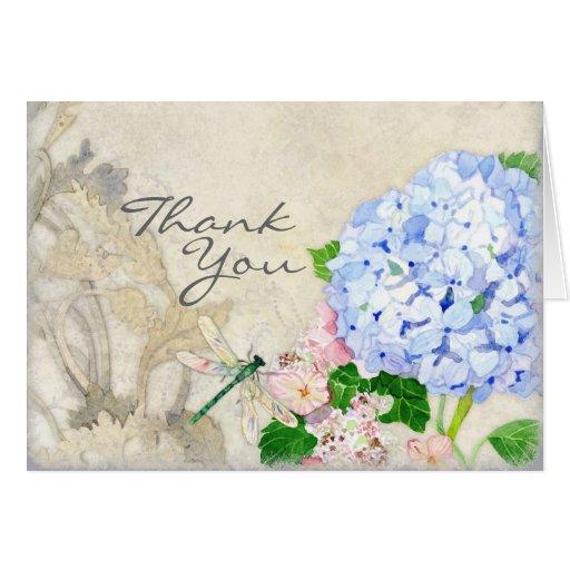 Jardin anglais aquarelle rose bleue d 39 hortensias cartes for Jardin anglais caracteristiques