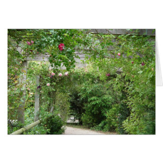 Jardin anglais de pays carte