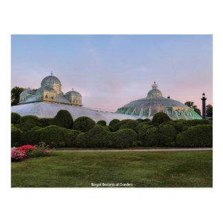 Jardin botanique royal carte postale