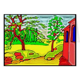 Jardin de pays carte