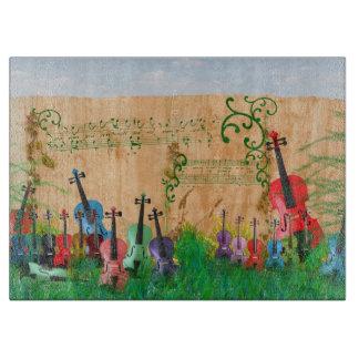 Jardin de violon planches à trancher