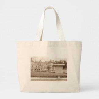 Jardin du Luxembourg, Paris vintage Grand Tote Bag