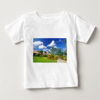 Jardin tropical t-shirt pour bébé