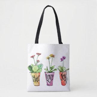 Jardinier assez inspiré de sac fourre-tout