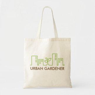 Jardinier urbain sac en toile budget
