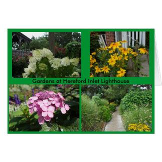 Jardins au phare d'admission de Hereford Carte