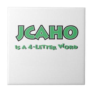 JCAHO est un mot 4-Letter Carreau
