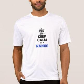 Je biseaute garde le calme Im un NANDO. T-shirt