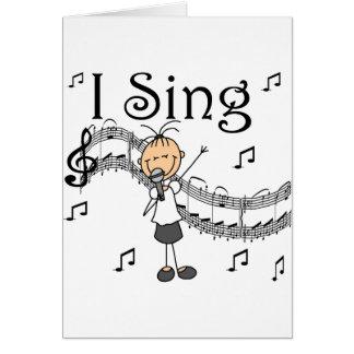 Je chante la carte