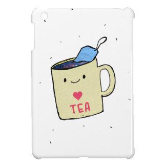 """""""Je chemise et habillement aime thé"""" Coque iPad Mini"""