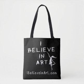 Je crois à l'art promotionnel tote bag