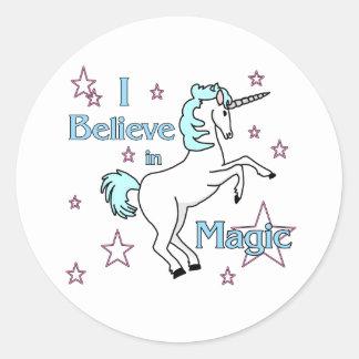 Je crois en autocollant magique
