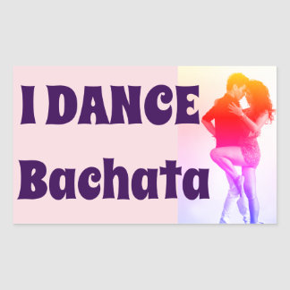 Je danse Bachata ! , Salsa, latin, autocollant de