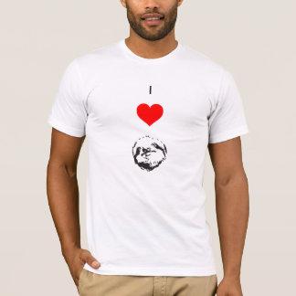 """Je des hommes """"(paresse de coeur)"""" T-shirt"""