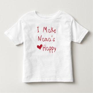 Je fais au coeur de Nana le T-shirt heureux
