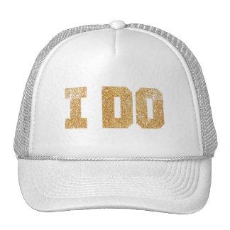 Je fais le casquette de Bachelorette de jeune