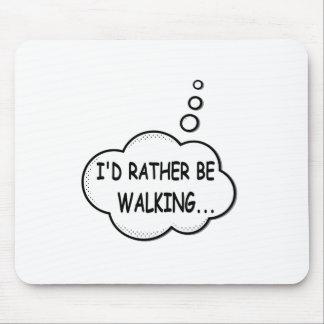 Je marcherais plutôt tapis de souris