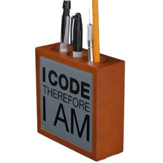 Je me code par conséquent suis