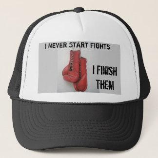 Je ne commence jamais des combats, casquette d'I