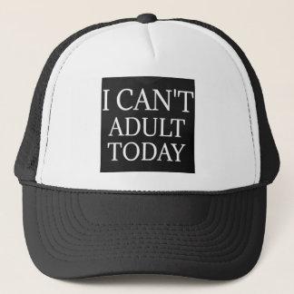 Je ne peux pas casquette de baseball adulte