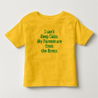 Je ne peux pas garder la chemise calme t-shirt pour les tous petits