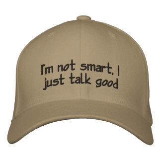 Je ne suis pas casquette intelligent