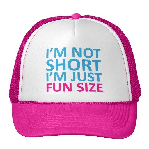 Je ne suis pas court je suis juste chapeau de tail casquettes