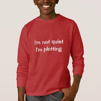 Je ne suis pas tranquille je trace t-shirt