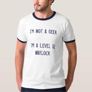Je ne suis pas un geek que je suis un T-shirt de