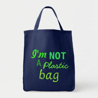 Je ne suis pas un sachet en plastique tote bag